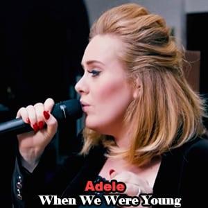 موزیک ویدیو Adele - When We Were Young
