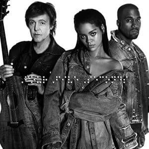 موزیک ویدیو Rihanna - FourfiveSeconds Ft. Kanye West & Paul McCartney