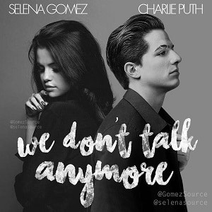 موزیک ویدیو Charlie Puth feat. Selena Gomez - We Don't Talk Anymore
