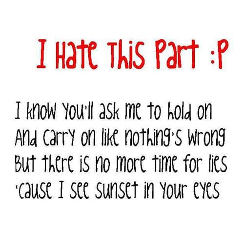 موزیک ویدیو I Hate This Part