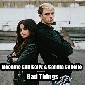 موزیک ویدیو Machine Gun Kelly, Camila Cabello - Bad Things