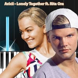 موزیک ویدیو Avicii - Lonely Together ft. Rita Ora