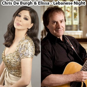 موزیک ویدیو Chris De Burgh & Elissa - Lebanese Night