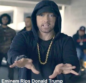 موزیک ویدیو Eminem Rips Donald Trump In BET Hip Hop Awards Freestyle Cypher