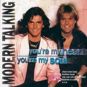 موزیک ویدیو Modern Talking -Your'e My Heart, Your'e My Soul 1984