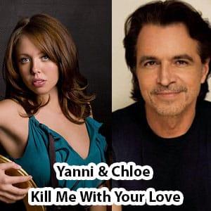 اجرای زنده موزیک ویدیو Yanni feat. Chloe - Kill Me With Your Love Live 2009