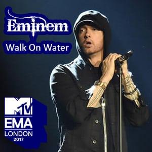 اجرای زنده Eminem - Walk On Water در مراسم mtv