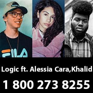موزیک ویدیو Logic 1 800 273 8255 feat Alessia Cara Khalid
