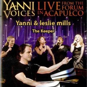 اجرای زنده Yanni & leslie mills the keeper live 2009