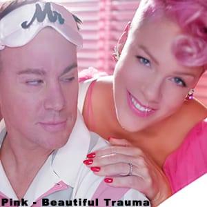 موزیک ویدیو Pink - Beautiful Trauma