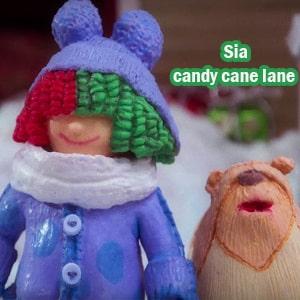 موزیک ویدیو sia - candy cane lane