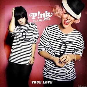 موزیک ویدیو Pink-True-Love-ft.-Lily-Allen