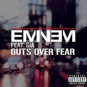 موزیک ویدیو Eminem - Guts Over Fear ft. Sia