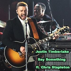 موزیک ویدیو Justin Timberlake - Say Something ft. Chris Stapleton