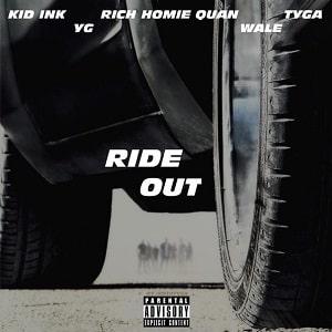 موزیک ویدیو Ride Out - Kid Ink, Tyga, Wale, YG, Rich Homie Quan eng Furious 7