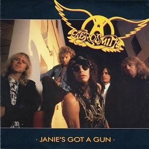 موزیک ویدیو Aerosmith - janie's got a gun