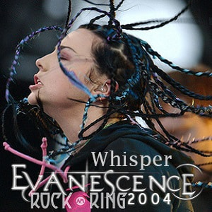 اجرای زنده Evanescence - Whisper با زیرنویس فارسی