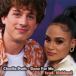 موزیک ویدیو Charlie Puth - Done For Me feat. Kehlani
