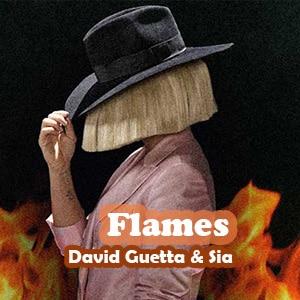 موزیک ویدیو David Guetta & Sia - Flames