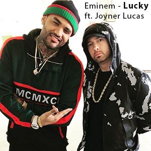 موزیک ویدیو Eminem - Lucky You ft. Joyner Lucas با زیرنویس فارسی