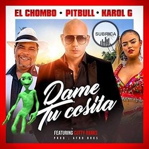 دانلود موزیک ویدیو Pitbull x El Chombo x Karol G - Dame Tu Cosita با زیرنویس فارسی