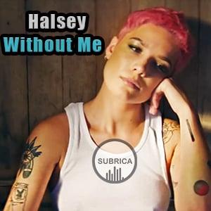 موزیک ویدیو halsey - without me با زیرنویس فارسی