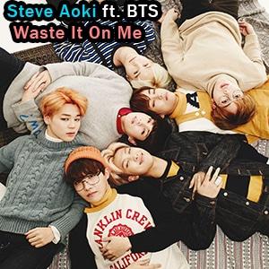 موزیک ویدیو Steve Aoki ft. BTS - Waste It On Me با زیرنویس فارسی