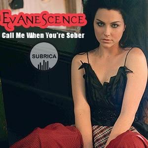 موزیک ویدیو Evanescence - Call Me When You're Sober با زیرنویس فارسی