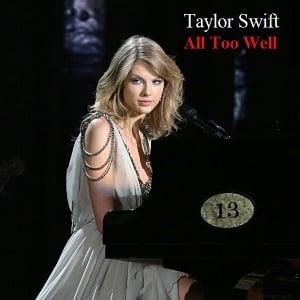 دانلود اجرای زنده All Too Well از Taylor Swift با زیرنویس فارسی