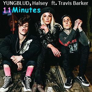 دانلود موزیک ویدیو Minutes از YUNGBLUD, Halsey ft. Travis Barker با زیرنویس فارسی