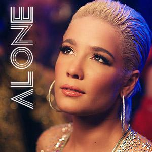 موزیک ویدیو Halsey - Alone ft. Big Sean, Stefflon Don با زیرنویس فارسی