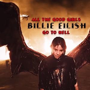 موزیک ویدیو Billie Eilish - all the good girls go to hell با زیرنویس فارسی