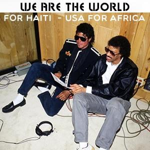 موزیک ویدیو WE ARE THE WORLD با زیرنویس فارسی