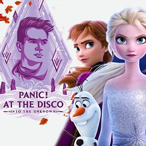 موزیک ویدیو Panic! At The Disco - Into the Unknown با زیرنویس فارسی