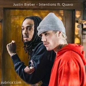 موزیک ویدیو Justin Bieber - Intentions ft. Quavo با زیرنویس فارسی