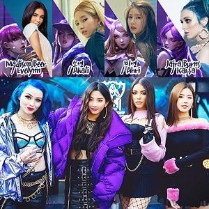 اجرای زنده K DA - POP STARS با زیرنویس فارسی