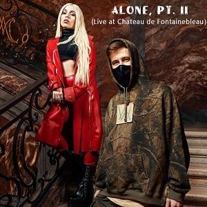دانلود موزیک ویدیو Alan Walker & Ava Max - Alone, Pt. II (Live at Chateau de Fontainebleau) با زیرنویس فارسی