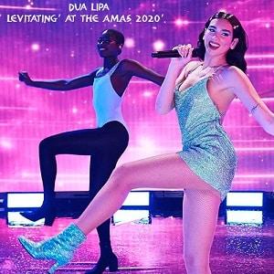 اجرای زنده دوآلیپا Dua Lipa - 'Levitating' at the AMAs 2020 با زیرنویس