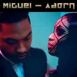 موزیک ویدیو Miguel- Adorn با زیرنویس