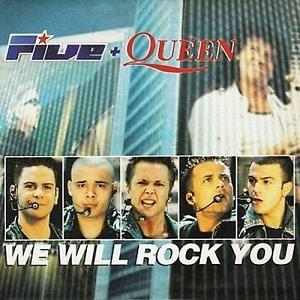 موزیک ویدیو Five & Queen - We Will Rock You با زیرنویس