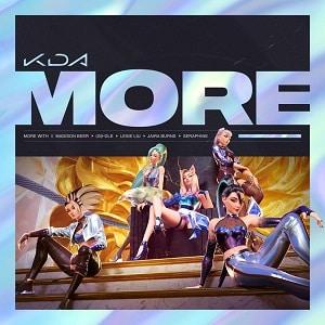 موزیک ویدیو K/DA - MORE ft. Madison Beer, (G)I-DLE, Lexie Liu, Jaira Burns, Seraphine با زیرنویس فارسی