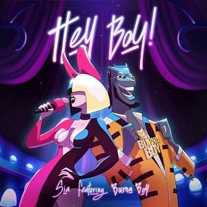 موزیک ویدیو Sia - Hey Boy feat. Burna Boy با زیرنویس