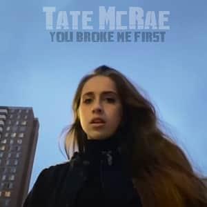 موزیک ویدیو Tate McRae - you broke me first با زیرنویس
