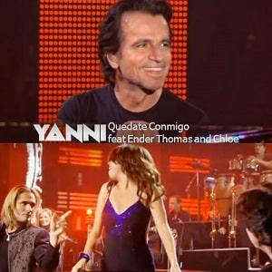 اجرای زنده Yanni - Quedate Conmigo (ft ender thomas and chloe) با زیرنویس