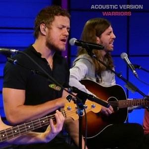 اجرای زنده آکوستیک Imagine Dragons - Warriors (Acoustic Version با زیرنویس