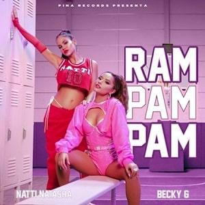 موزیک ویدیو Natti Natasha x Becky G - Ram Pam Pam با زیرنویس