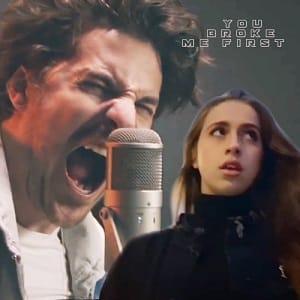 موزیک ویدیو Tate McRae - you broke me first (Rock Cover by Our Last Night) با زیرنویس