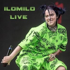 اجرای زنده Billie Eilish - ilomilo [Live] When We All Fall Asleep World Tour 2019 با زیرنویس