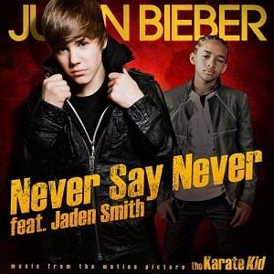 موزیک ویدیو Justin Bieber - Never Say Never ft. Jaden Smith با زیرنویس