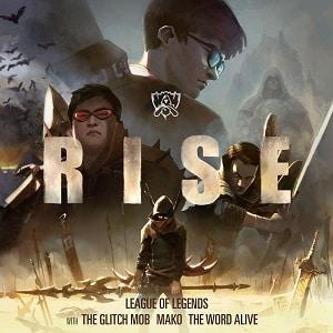 موزیک ویدیو RISE (ft. The Glitch Mob, Mako, and The Word Alive) Worlds 2018 - League of Legends با زیرنویس